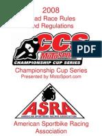 2008 Asra-ccs Rulebook