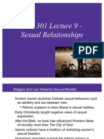 BIO 301 Lecture 9 - Sexual Relationships