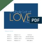 Philippians 1a Love