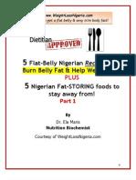 5 Flat Belly Nigerian Recipes 1nx Joe