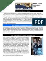 2008 November Newsletter