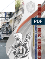 Currículo 2004 Reajustado de la E.F.P. Antropología social - UNSCH
