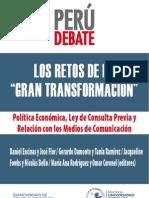 Perú Debate- Los retos de la gran transformación.