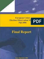EU - Election Observation Mission - Fiji 2006 - September 2006