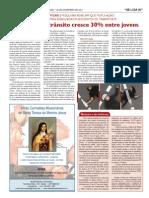 Jornal Santuário de Aparecida 20/11/11 - Violência Transito - Leonardo Fd Araujo