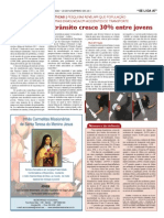 Jornal Santuário de Aparecida 20/11/11 - Violência Transito - Psicólogo em Curitiba Leonardo Fd Araujo