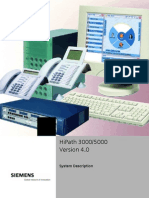 HiPath 3000_5000 V4.0 System Description