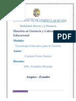 Tecnologias Educativas Universidad de Loja Carmita