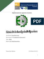 Historia de Investigacion de OPeraciones Completo