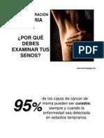 AUTOEXPLORACIÓN MAMARIA _ autoevaluación mamaria _auto examen de la mama