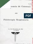 Confer en CIA Consenso Lyon 1994- Fisioterapia Respiratoria