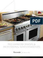 Thermador Pro Harmony Cook Brochure