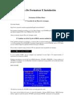 Formatear e Instalacion