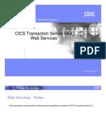 CICS TS 31 Web Services