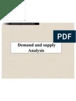 Demnd & Spply Anlysis - I