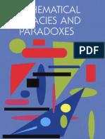 Mathematical Fallacies & Paradoxes - Bryan Bunch