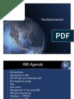 Risk Based Inspection Program