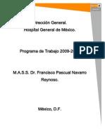 Programa de Trabajo 2009-2014