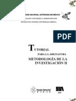 Metodologia de La Investigacion 2 Proyectos Mio