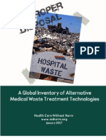Medical Waste Treatment Tech