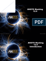 ANSYS Meshing 12.0