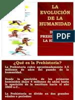 EVOLUCIÓN DE LA HUMANIDAD TEORIA MATERIALISTA