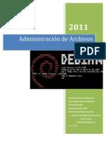 Administración de Archivos Debian