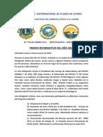 42º FOLAC Primer Informativo 2012.