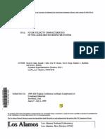 David B. Stahl et al- Flyer Velocity Characteristics of the Laser-Driven Miniflyer System