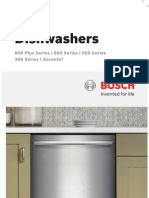 Bosch Pacific Sales Dishwasher Catalog