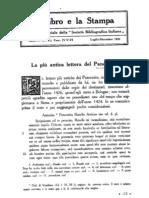 Il LIBRO E LA STAMPA ANNO IV 1910