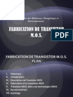 Fabrication de Transistor