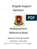 Redeployment Booklet 2012
