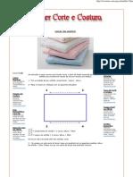 ATELIER CORTE E COSTURA - lençol