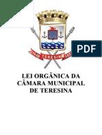 Lei Organica Do Municipio de Teresina