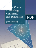 First Course in Topology