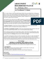 KPNHW Newsletter February 2012