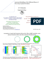 J.P. Chittenden- Two and Three-dimensional Modelling of the Different Phases of Wire Array Z-pinch Evolution