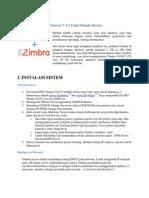 Instalasi Zimbra Mail Server 7.1.1 Pada Ubuntu Server