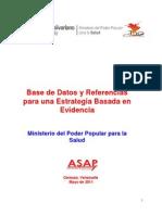 Base de Datos Venezuela 30 de Mayo de 201112