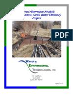 South Meadow Creek Water Efficiency Project