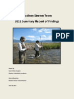 Madison Watershed Stream Team