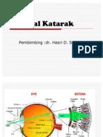 Presentasi Katarak