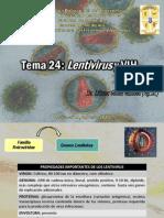 TEMA 24 Lentivirus y VIH