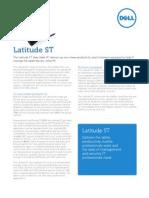 Latitude St Spec Sheet Business