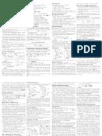Cs421 Cheat Sheet