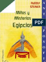 Steiner Rudolf - Mitos y Misterios Egipcios