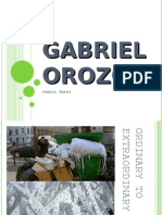Gabriel  Orozco by Jemini Patel