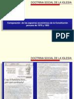 Comparación económica de la Constitucion Peruana de  1979  y 1993