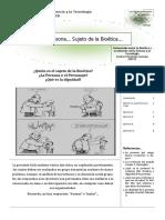 Bioetica s2 2011 Guia 3. Bioetica y Dignidad Ps